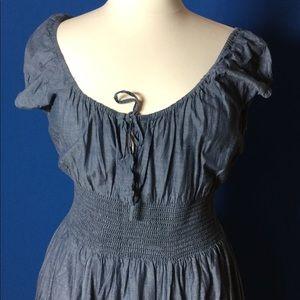 Chelsea & Theodore lightweight cotton denim dress.